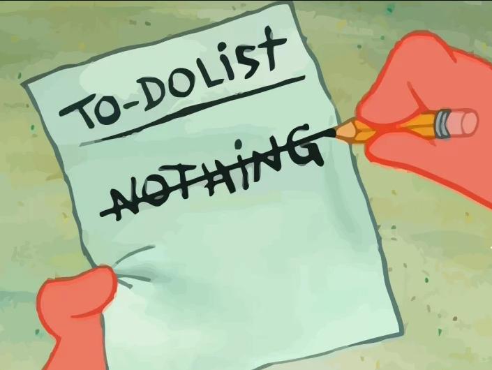 Список дел на жизнь